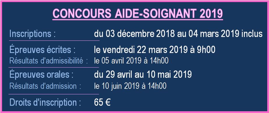 Concours AS 2019 dates v1